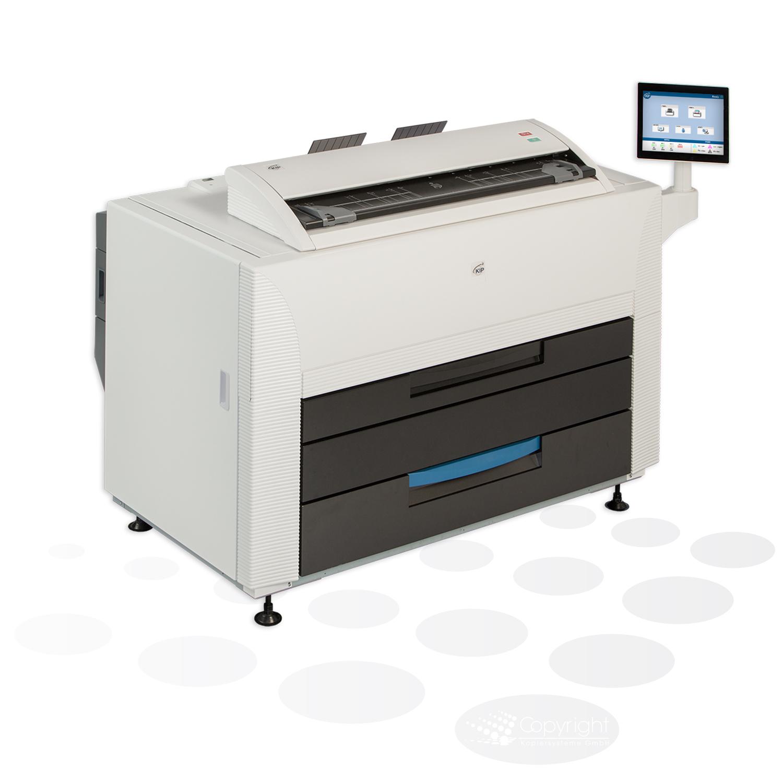 KIP 860 mit 2 Rollen und Farbscanner (MFP)