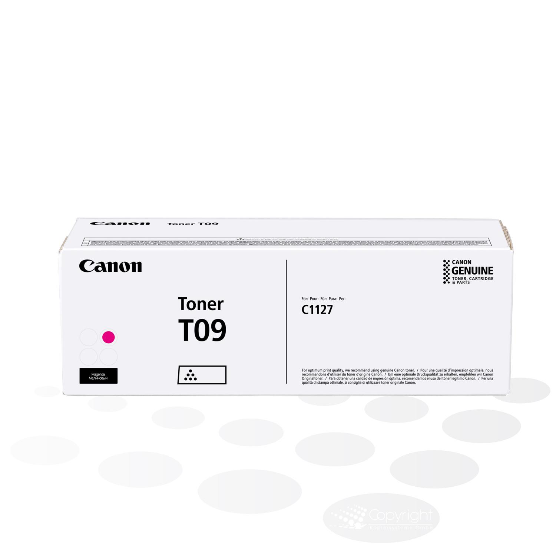 Canon Tonercartridge T09 M, Magenta