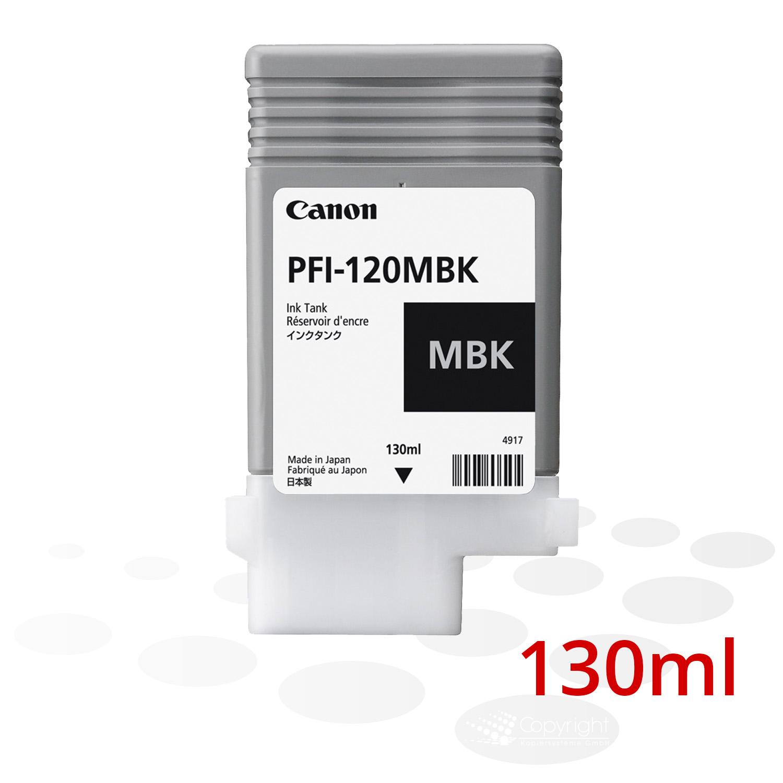 Canon Tinte PFI-120 MBK, Matt Schwarz, 130 ml
