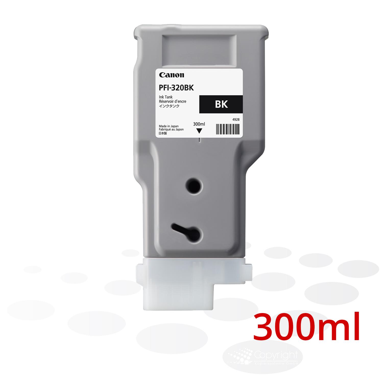 Canon Tinte PFI-320 BK, Schwarz, 300 ml