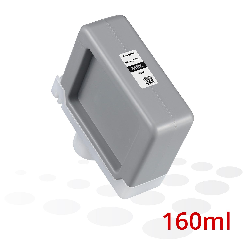 B-Ware Canon PFI-110 MBK, Matt Schwarz, 160 ml