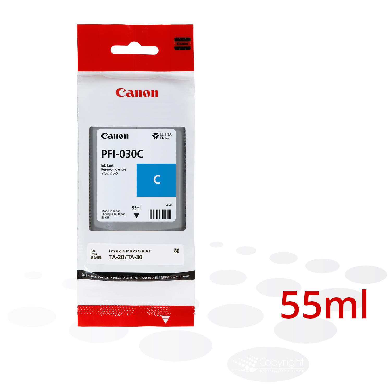 Canon Tinte PFI-030 C, Cyan, 55 ml