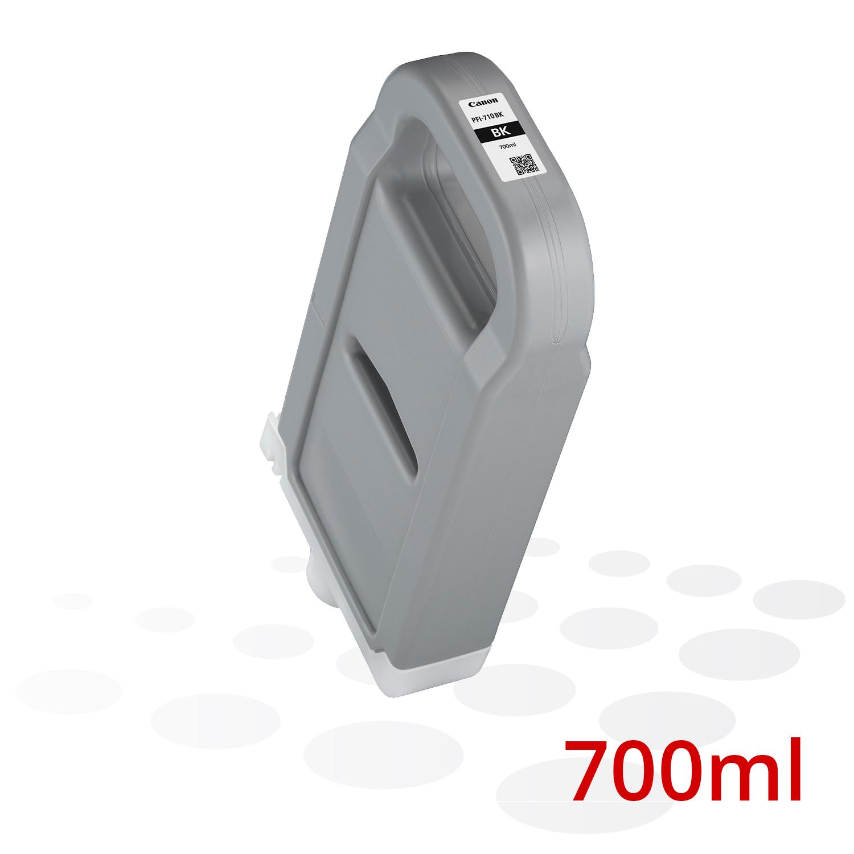 Canon PFI-710 BK, Schwarz, 700 ml