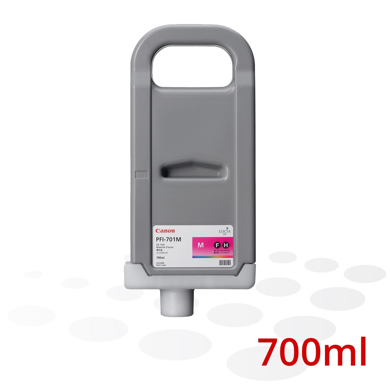 Canon Tinte PFI-701 M, Magenta, 700 ml