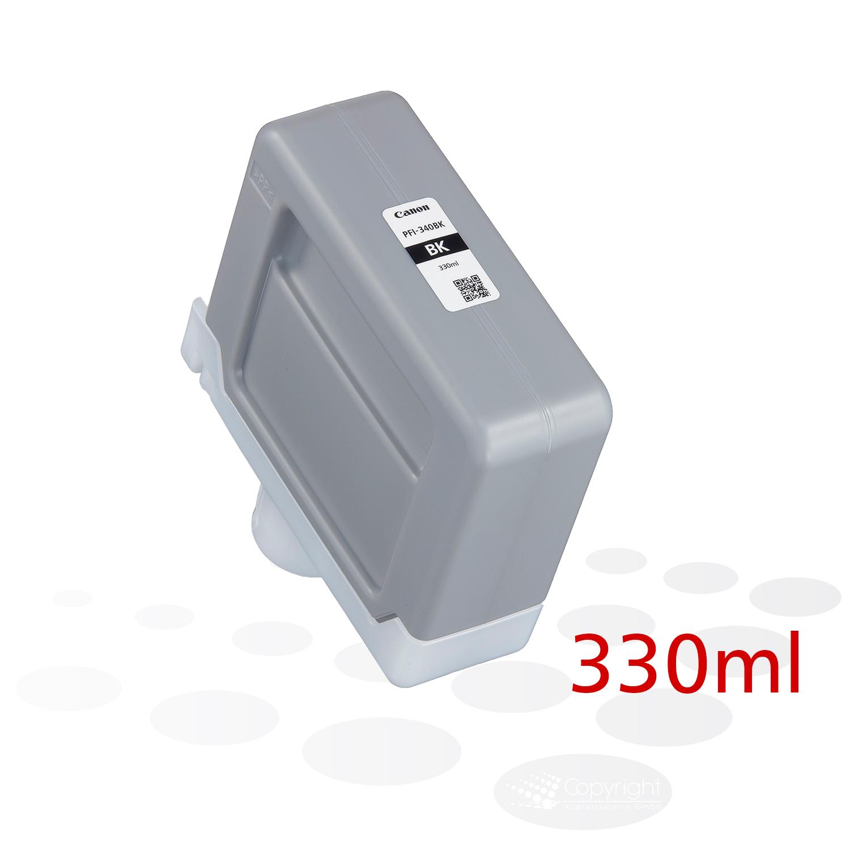 Canon PFI-340 BK, Schwarz, 330 ml