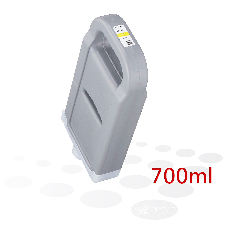 Canon PFI-740 Y, Yellow, 700 ml