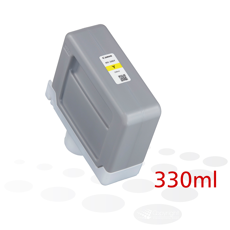 Canon PFI-340 Y, Yellow, 330 ml