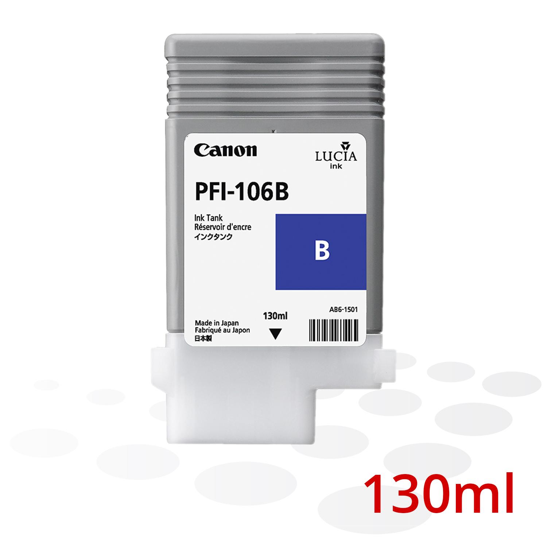 Canon PFI-106 B, Blau, 130 ml