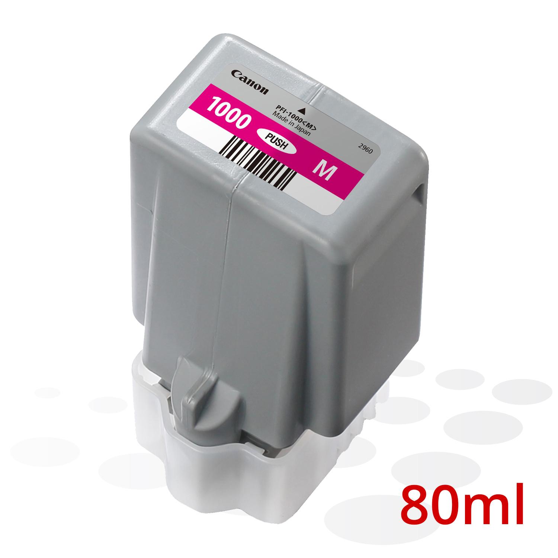 Canon PFI-1000 M, Magenta, 80 ml