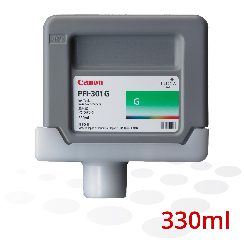 Canon Tinte PFI-301 G, Grün, 330 ml