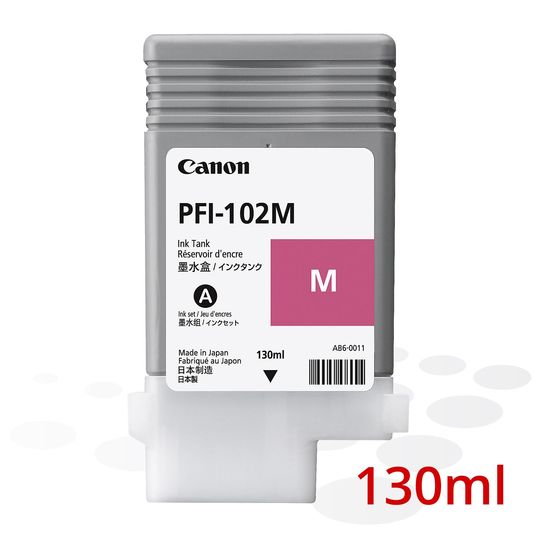 B-Ware Canon PFI-102 M, Magenta, 130 ml