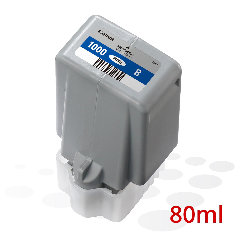 Canon PFI-1000 B, Blau, 80 ml