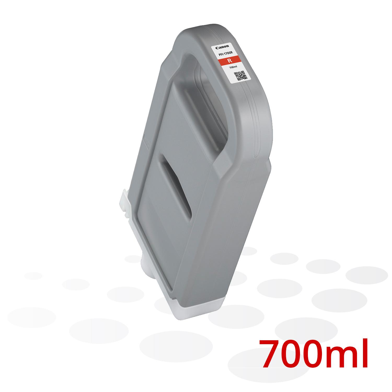 B-Ware Canon PFI-1700 R, Rot, 700 ml