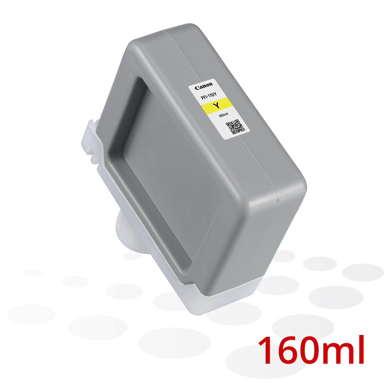 B-Ware Canon PFI-110 Y, Yellow, 160 ml