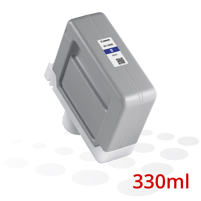 B-Ware Canon PFI-1300 B, Blau, 330 ml