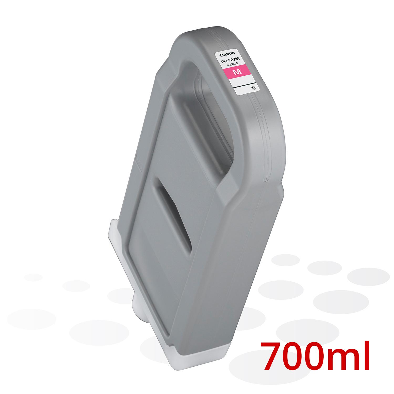 Canon PFI-707 M, Magenta, 700 ml