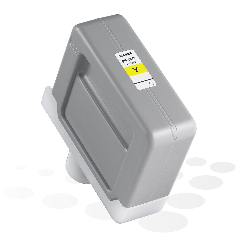 Canon PFI-307 Y, Yellow, 330 ml