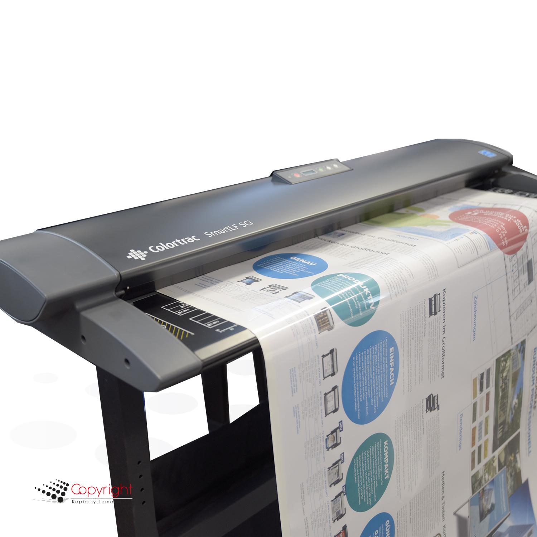 Colortrac Dokumenten-Schutzhülle DIN A0 klar/weiß
