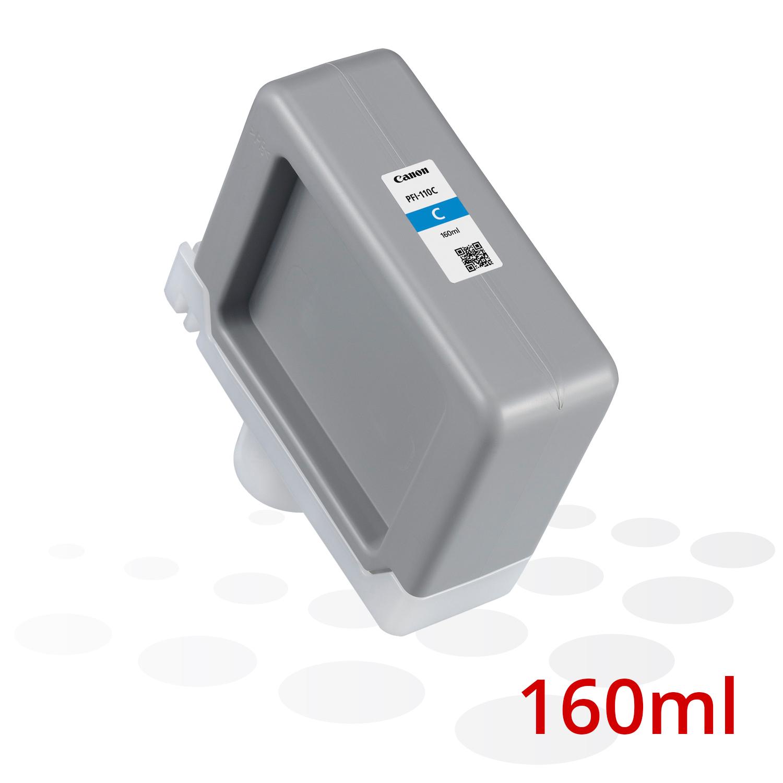 Canon PFI-110 C, Cyan, 160 ml