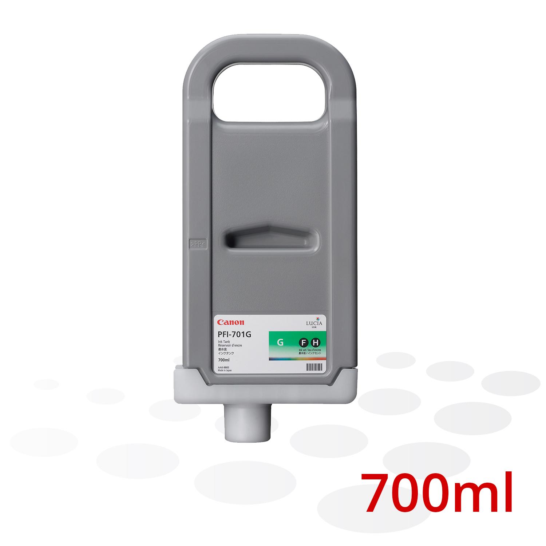 Canon Tinte PFI-701 G, Grün, 700 ml
