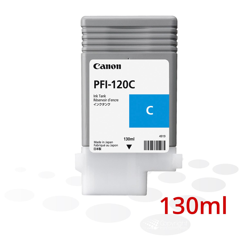 Canon Tinte PFI-120 C, Cyan, 130 ml