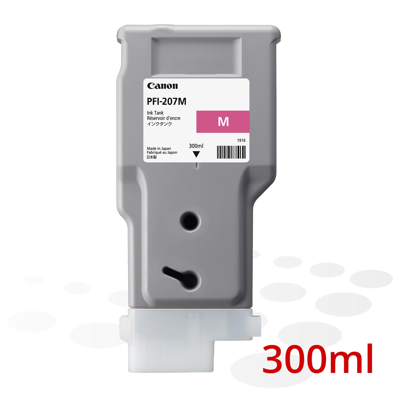 Canon PFI-207 M, Magenta, 300 ml