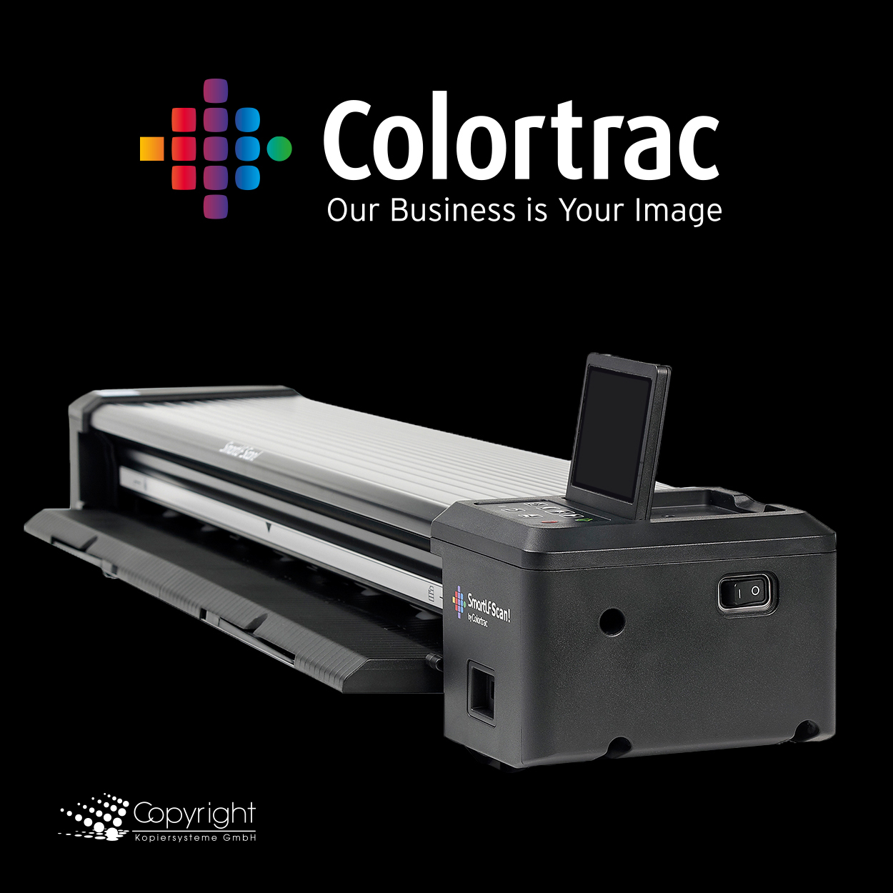 "Colortrac SmartLF Scan! 36"" Scanner to Go"
