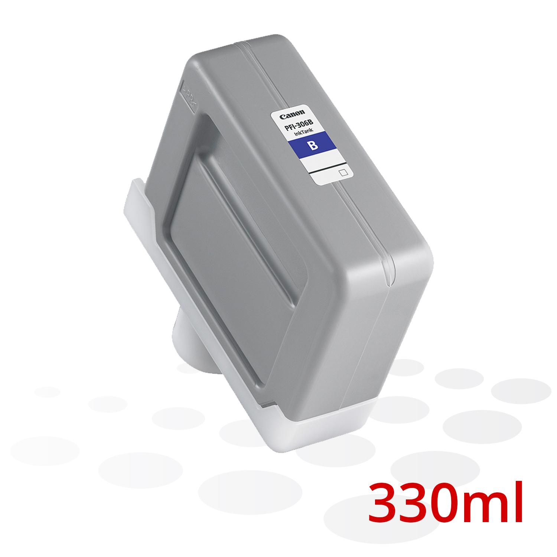Canon Tinte PFI-306 B, Blau, 330 ml
