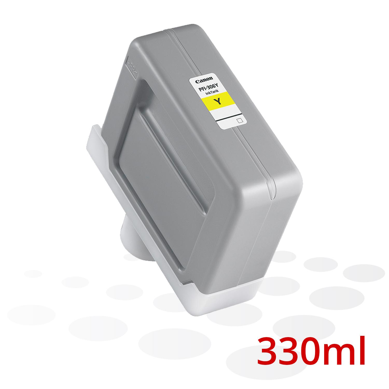 Canon Tinte PFI-306 Y, Yellow, 330 ml