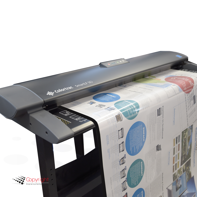 Colortrac Dokumenten-Schutzhülle DIN A0 klar/schwarz