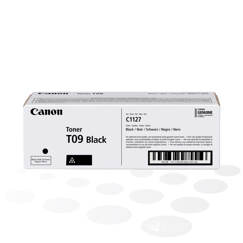 Canon Tonercartridge T09 BK, Schwarz