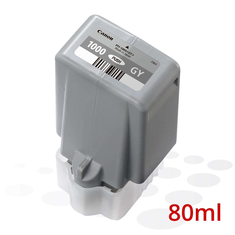 Canon PFI-1000 GY, Grau, 80 ml