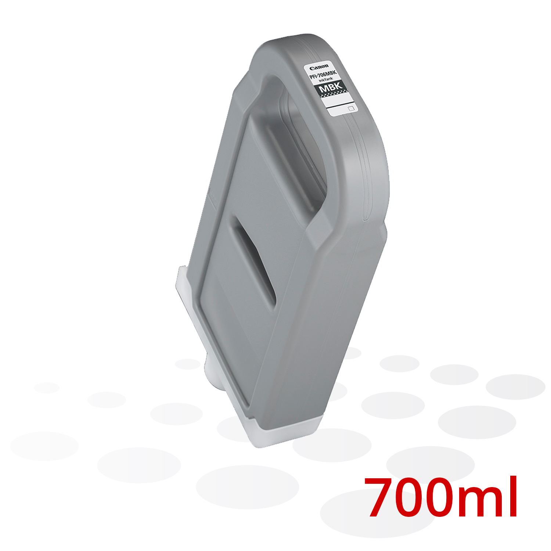 Canon Tinte PFI-706 MBK, Matt Schwarz, 700 ml